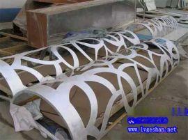 白银雕花镂空铝板 墙身立面雕刻铝板 镂空铝单板图片
