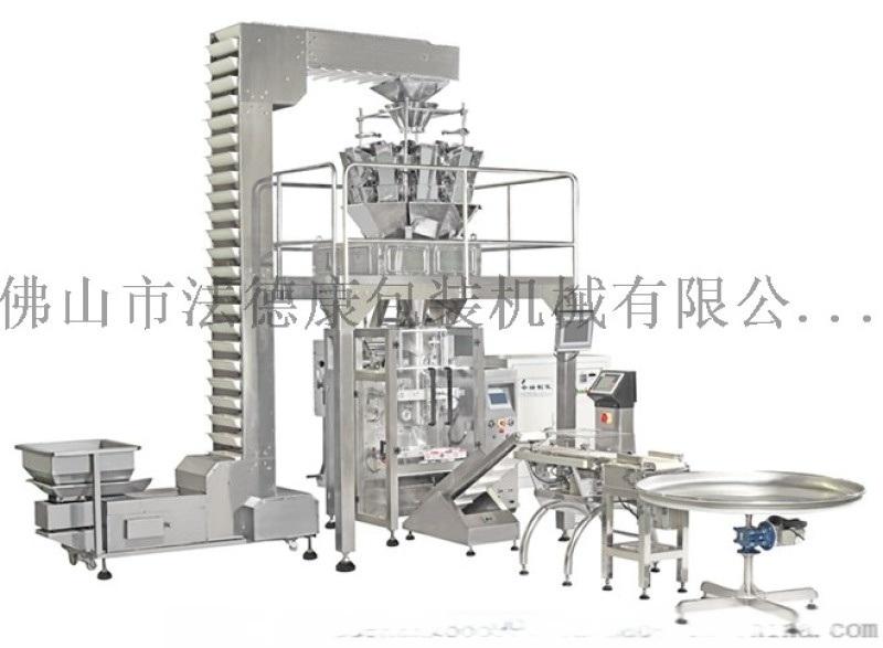 云南大蒜包装机 蒜头包装设备厂家 全自动蒜瓣电子称重落料包装机