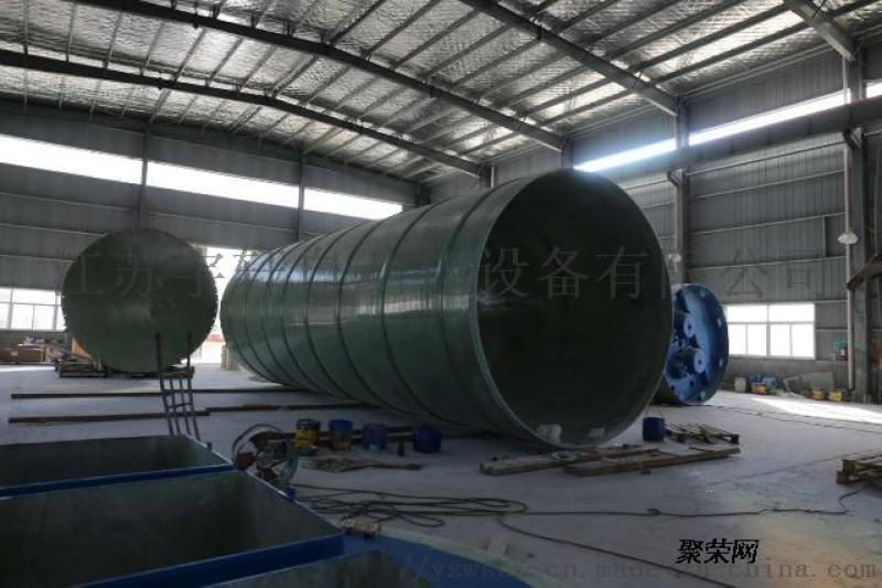 安庆一体化玻璃钢污水提升泵站