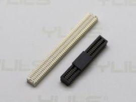 电路板连接器234-0.80mm 板对板 母座双槽