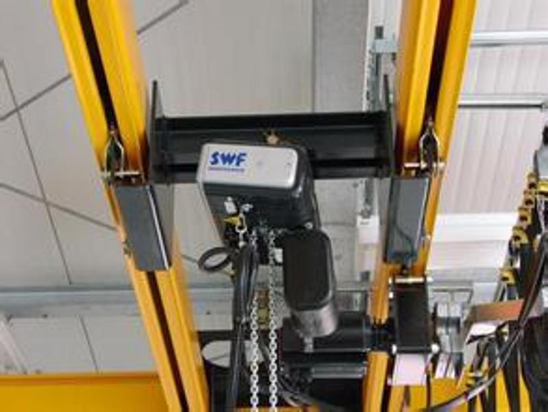 代理经销美国高博KBK柔性吊组合式自立起重机MLCS-FS-250-4