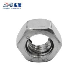 东溱工业厂家直销304不锈钢金属锁紧螺母 全金属自锁紧螺母