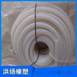 耐高溫圓形方形硅膠條 空心硅膠密封條