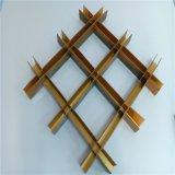 铝天花厂家直销铝格栅吊顶天花铝格子规格可定制生产