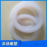 生產供應 耐高溫硅膠密封墊片 白色硅膠隔震墊 食品級硅膠墊