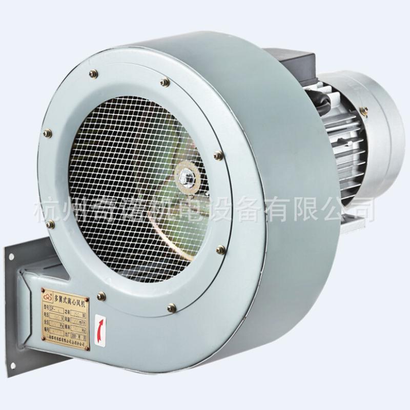 供應DF-5型550W耐高溫低噪聲節能多翼式烘房迴圈熱風機