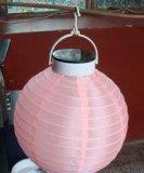 圓形太陽能燈籠