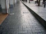 仿青石板混凝土压模地坪模具/压花地坪材料厂家