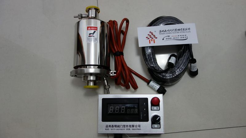 FHM電加熱呼吸器, 呼吸器加熱器