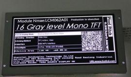 6.2寸单色TFT显示屏