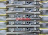 廠家直銷大功率模組4燈LED注塑模組 led3528注塑防水模組