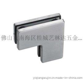 304不锈钢精铸玻璃夹 多功能方头门夹 门控五金门夹