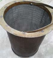 300MW機組潤滑油主油箱回油濾網