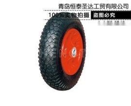 手推車輪子 貨倉車輪子 內外胎 型號400-8 300-8 300-4 350-8各種型號 廠家直銷