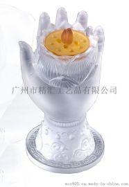 琉璃佛教用品生产厂家,琉璃香炉,琉璃佛手香薰炉,深圳琉璃工艺品厂家,广州琉璃佛像批发