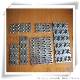 木屋连接件 金属齿板 镀锌齿板