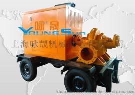 10寸柴油水泵机组 柴油机水泵