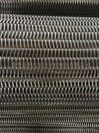 大丝输送网带 超宽乙型网带 转弯 提升 网带