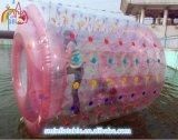 定制PVC彩色充气滚筒水池 现货供应儿童充气手摇船水池 游泳池