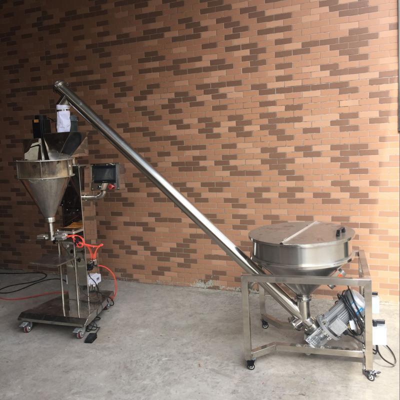 中凱直銷(藥品、奶粉等粉末狀產品)半自動大劑量粉劑灌裝機