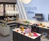 商場親子餐廳設備廠家定製加盟淘氣堡兒童模擬廚房