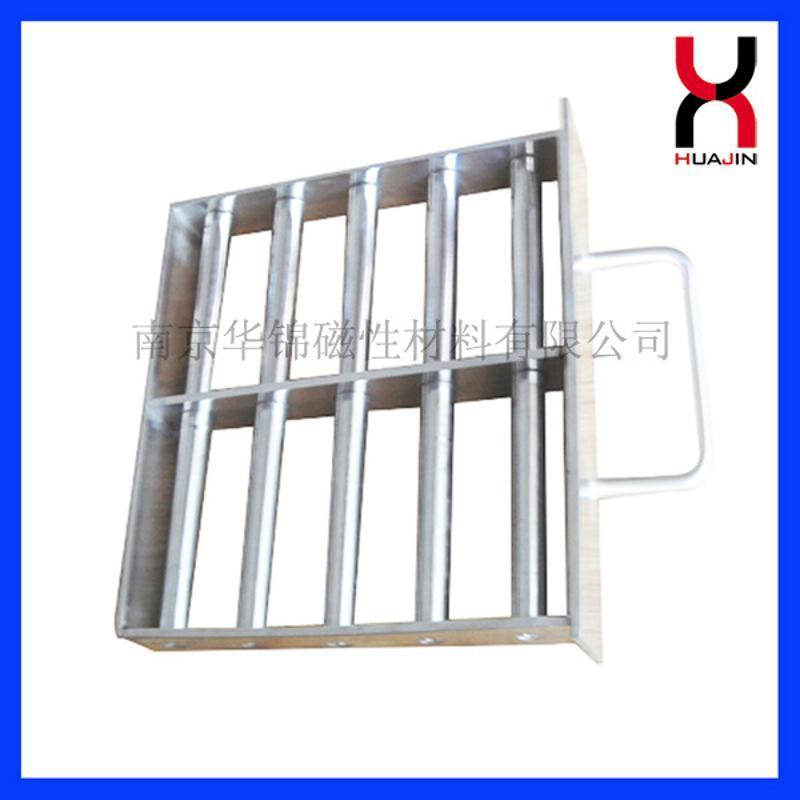 廠家供應強力吸鐵磁棒 5管,7管,11管磁力架價格優惠