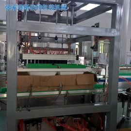 张家港市 全自动抓取式装箱机/多型号气缸移位抓取式装箱机