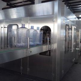 旋转式大桶矿泉水灌装机 桶装纯净水灌装生产线 全自动灌装机
