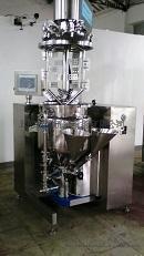 500L真空乳化机,大型工业用真空乳化机