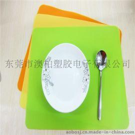 厂家直销出口餐垫 硅胶餐垫 隔热垫 西餐垫 创意家居 厨房小工具