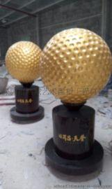 深圳玻璃钢高尔夫球雕塑厂家,打造签名高尔夫球技术制作领头羊