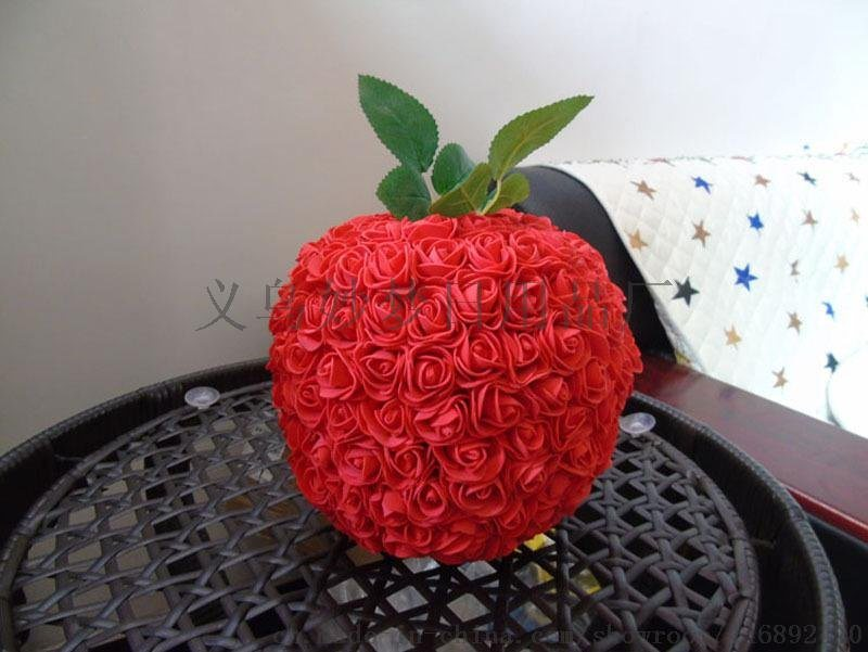 香皂花苹果 圣诞节礼物七彩苹果 平安夜苹果