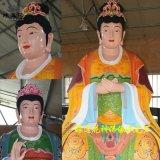 三霄聖母神像 三霄娘娘奶奶神像 豫蓮花佛像廠家