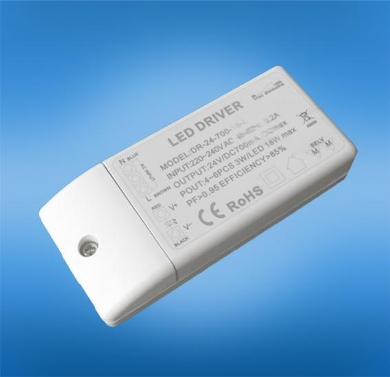 深圳華越科 LED調光電源 恆流12w ETL認證電源 20w恆壓TUV認證驅動器