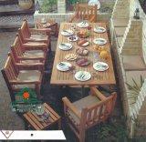 出口户外实木桌椅/花园庭院餐桌椅