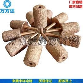 钎焊金刚石/CBN砂轮 磨石材用钎焊金刚石砂轮