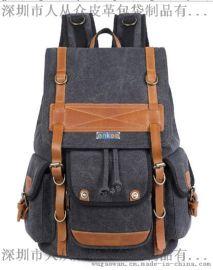enkoo+CRA815+双肩帆布背包