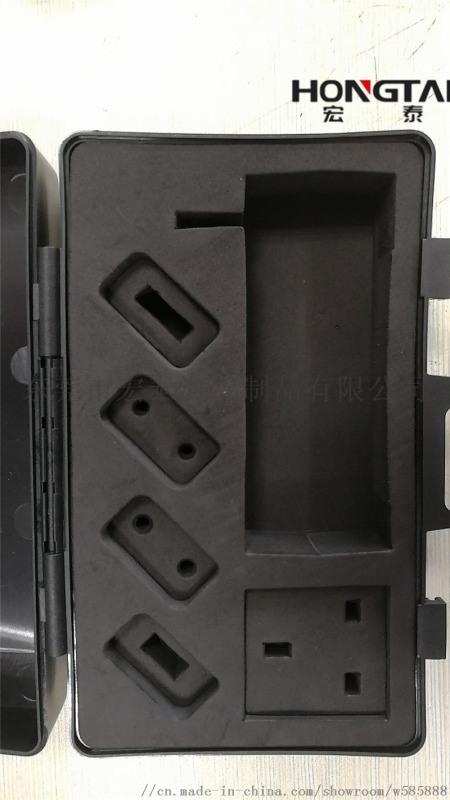 精雕激光切割直角EVA包装内衬