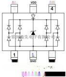 AZC199-04S 低电容ESD防雷管/ESD静电保护管 AZC199-04 SOT23-6