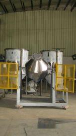 大型塑料粉体搅拌机滚桶粉体混料机厂家自产自销售后有保障