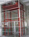 石家莊市元氏 橋東區直銷供應啓運導軌式升降機貨梯 簡易貨梯液壓升降平臺