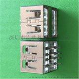 厂家生产USB2.0母座品质稳定AF双层插座连接器