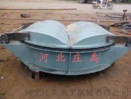 桂林铸铁拍门 节能式铸铁拍门 节能侧翻圆拍门