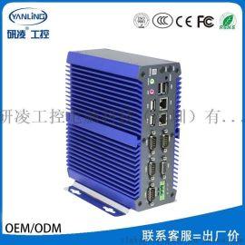 研凌IBOX-700无风扇嵌入式工业工控电脑厂价直销
