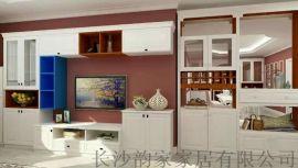 墙柜 小户型组合电视柜(厂家直销)定制