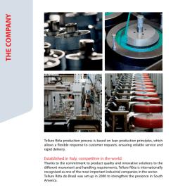 工业脚轮Tellure Rota 承载轮定向轮进口品牌