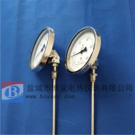 一年質保 全不鏽鋼直徑150溫度表WSS-581萬向雙金屬溫度計
