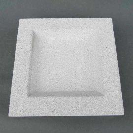 供应用于锅炉除尘废水和冲渣水的过滤微孔陶瓷过滤板