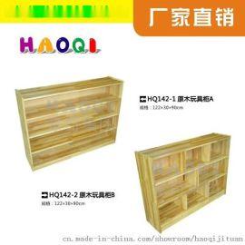 陕西幼儿园玩具柜,原木玩具柜