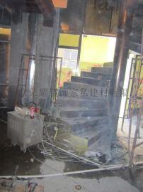 定制酒店工程钢结构楼梯 旋转楼梯